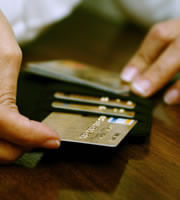 Credit card rates settle down -- for now