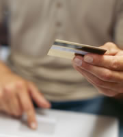 Credit card rates hold the line