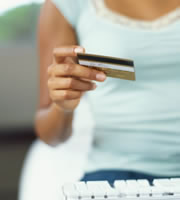 Going green with credit cards