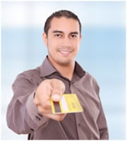 Your credit cards: